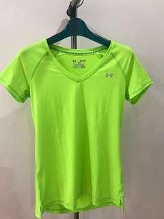 Under Armour V neck Workout Top
