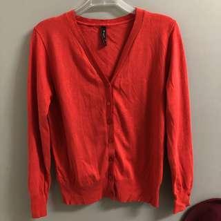 ⭐️質量好 紅色針織外套