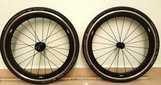 Controltech 20inch 406 alloy wheelset