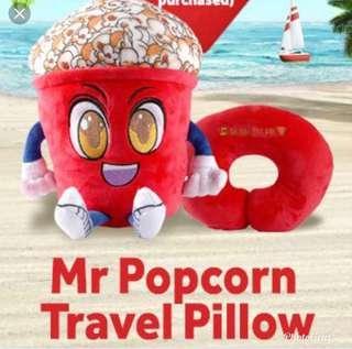 Popcorn Travel Pillow