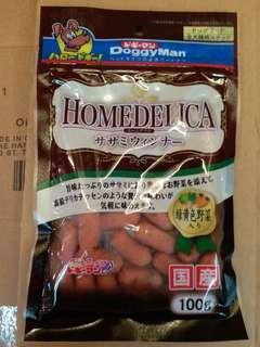 日本Doggyman野菜雞條100g