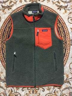 🚚 patagonia (16's) retro x vest size:M