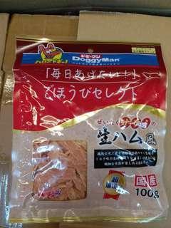 日本Doggyman火腿雞肉薄片100g