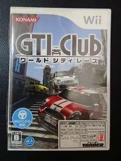 ((中古)) 日版 - Wii GTI Club (WiiU 可玩 KONAMI Nintendo 任天堂 )