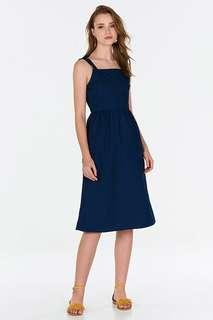 TCL acacia ribbon strap dress (navy)