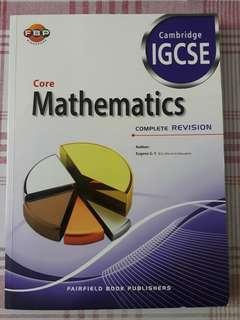 IGCSE Maths revision assessment book