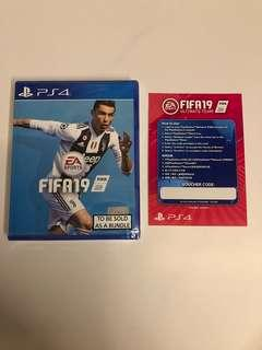 WTS- Fifa 19 + Codes PS4