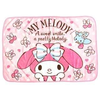 🚚 正版授權 日本 三麗鷗 MY MELODY 美樂蒂 小毛毯 刷毛毯 懶人毯 毛毯 70*100cm