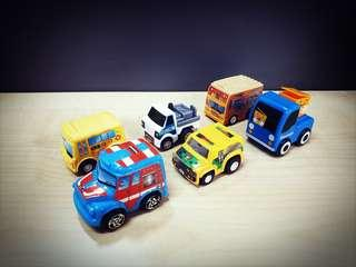 Assorted Mini Cars Set