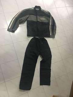 Bike rain jacket and pants