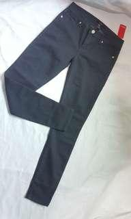 FOREVER21 MID RISE GRAY PANTS