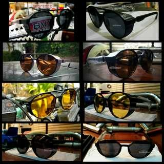 Sunglasses/kacamata aviator steampunk import