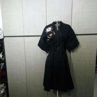 Designer Trenchcoat dress