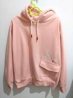 Korean Hoodie Pink