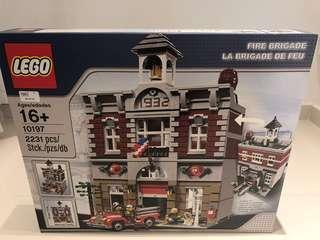 LEGO 10197 FIRE BRIGADE - Retired Set