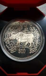 1997  $10 Cupro-Nickel Proof-Like Coin