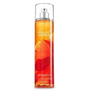 Bath & Body Works Fragrance Mist Sensual Amber