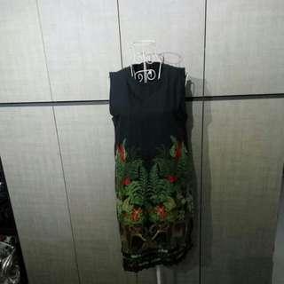 Designer embroidery dress