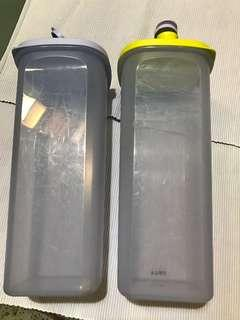 Tupperware 2L water container 2pcs