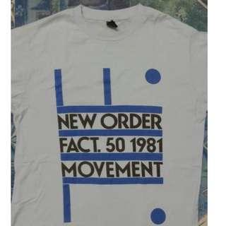 T shirt Band New Order