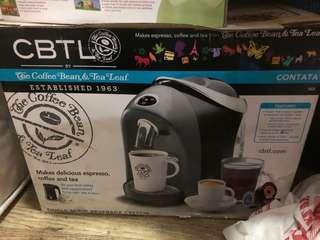CBTL Contata coffee maker