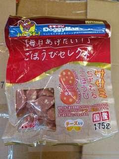 日本Doggyman芝士雞肉片175g