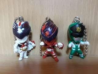 Super Sentai Gashapon set