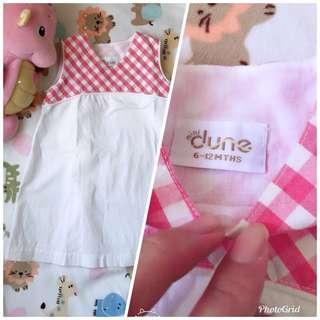 #jualanibu Mini Dune Dress (sz 6-12m)
