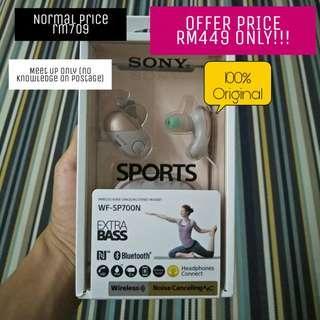 Sony Wireless Noise Canceling Headset a.k.a wireless earphone