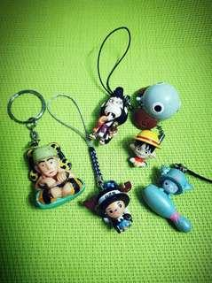 One Piece Keychains & Charms (A)