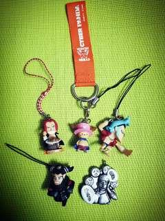 One Piece Keychains & Charms (B)