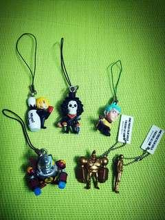 One Piece Keychains & Charms (D)