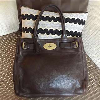 Authentic Mulberry Bayswater Tote in Brown 67c80d520b34a