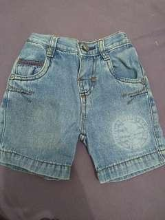 Snoopy Baby Denim size M ( 6 bulan ) Celana Jeans Bayi