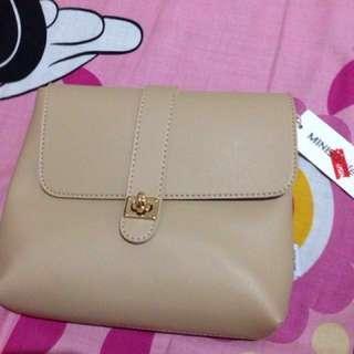 Miniso Bag Warna Cream