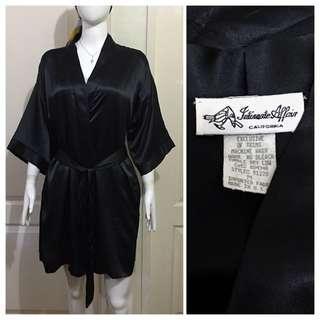 NC103 Intimate Affair silk bathrobe