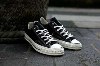 Converse 70s black egret low size 7us 6uk 39