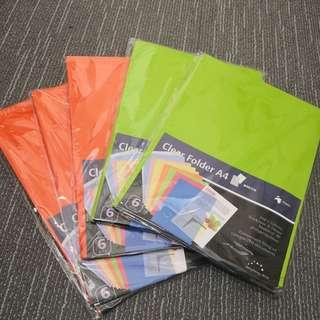 A4 Clear Folder