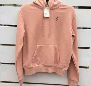 H&M sweatheart pink
