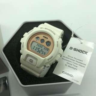 2018 Latest Collection Medium Gshock Ladies Girls GMDS6900 White Rose Gold with FREE DELIVERY 📦 G-Shock