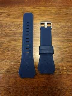 Navy silicon watch strap for 46mm, suitable for Galaxy