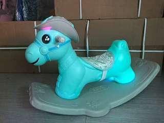 cowboy rocking horse