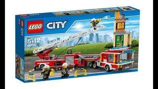 Lego City 60112 Fire Engine