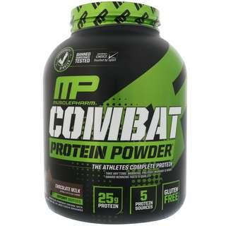 💥CHEAPEST💥 Musclepharm Combat Whey Protein 4lb New and sealed chocolate milk