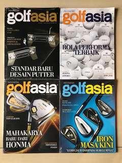 Majalah GolfAsia (Masih Diplastik)