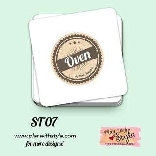 Corporate Tag/Sticker ST07