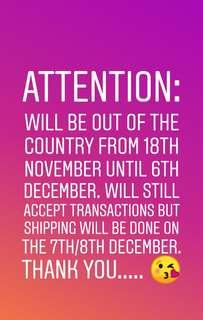 Attention Shoppers! 😊