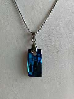 Swarovski Pendant with Necklace