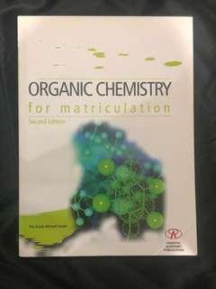 College Organic Chemistry Textbook/Reference book for Asasi/Matrik/STPM