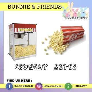 Popcorn & Cotton Candy Machines Rental